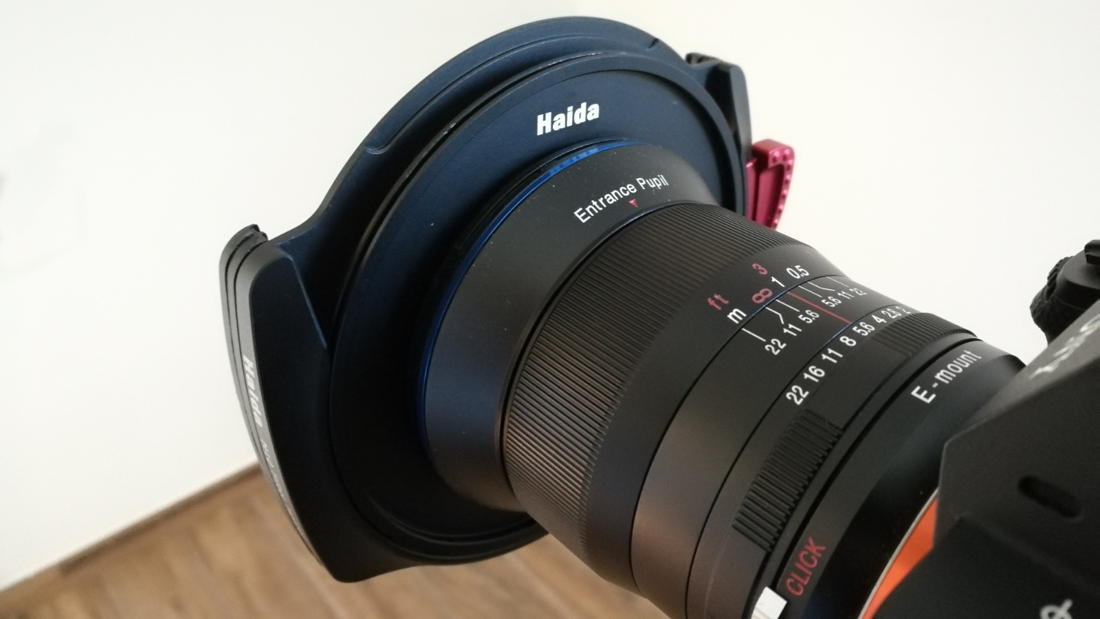 M10 filter holder on Laowa 15mm f/2 D-Dreamer