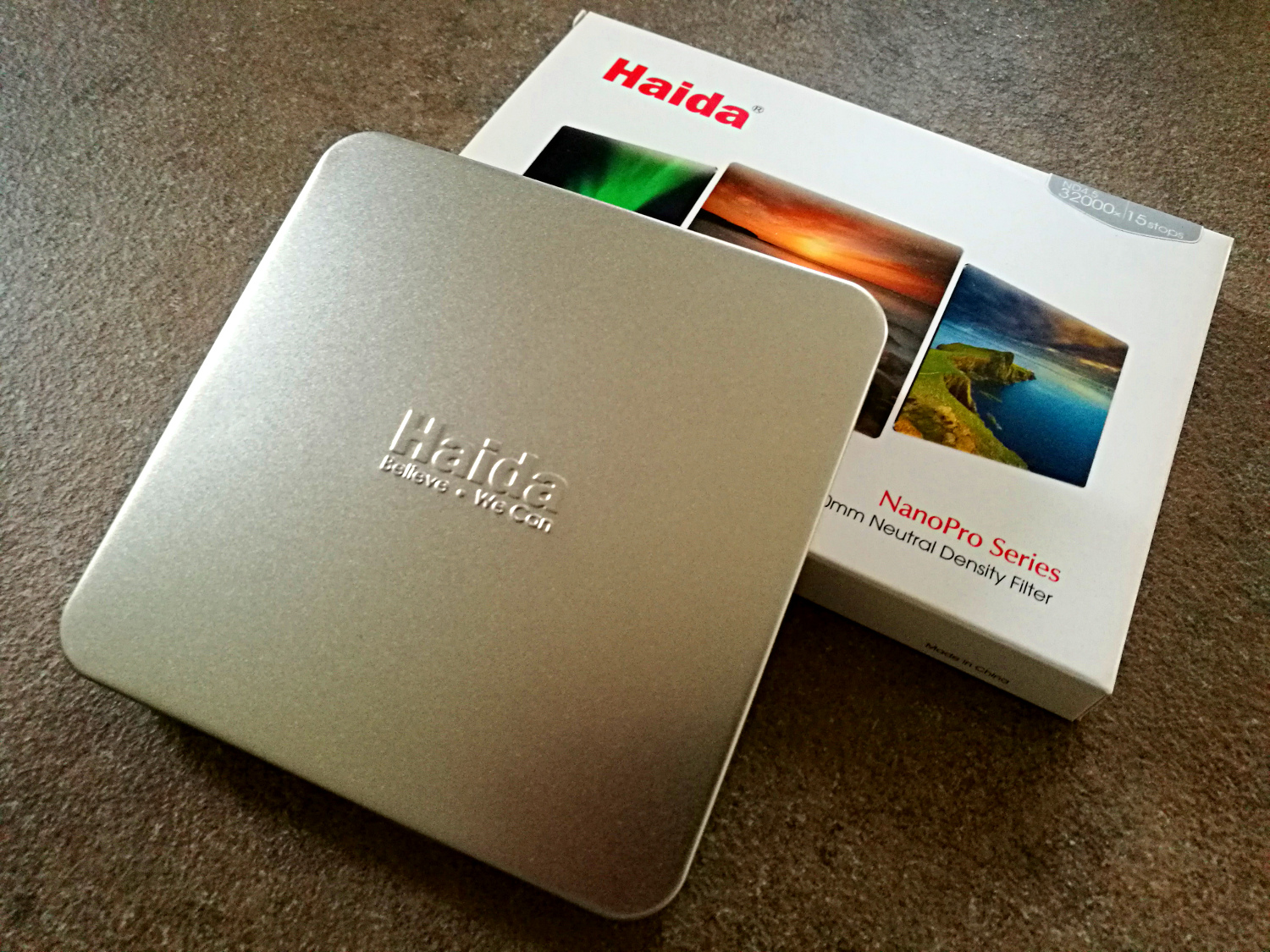 Haida ND4.5 external box and metal case