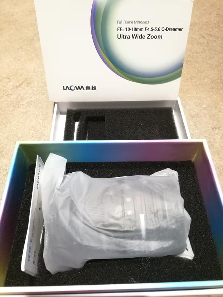 unboxing Laowa 10-18mm