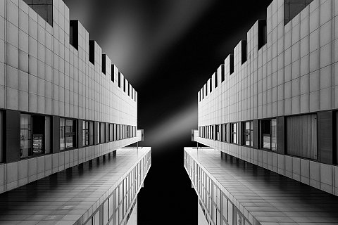Black white architectural and fine art photography